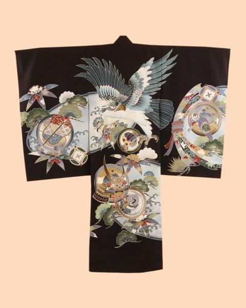ピクチャーコレクションのお宮参り用の掛け着物2 男児用
